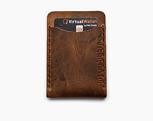 Flat Jacket Wallet ~ Leather Front Pocket EDC Card Wallet - Buy