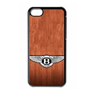 Generic hard plastic Bentley Motors Limited Logo Cell Phone Case for iPhone 5C Black ABC8354090