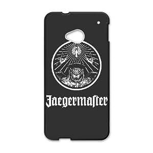 HTC One M7 Phone Case Covers Black JaegerMaster White Version VIO Unique Plastic Case