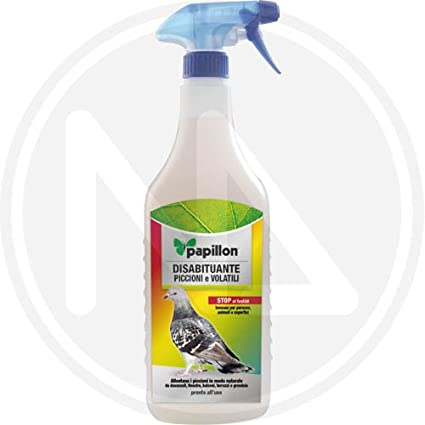 SPRAY -PIGEON REPELLENT FOR PIGEONS AND BIRDS PAPILLON -1PZ: Amazon.co.uk: Kitchen & Home