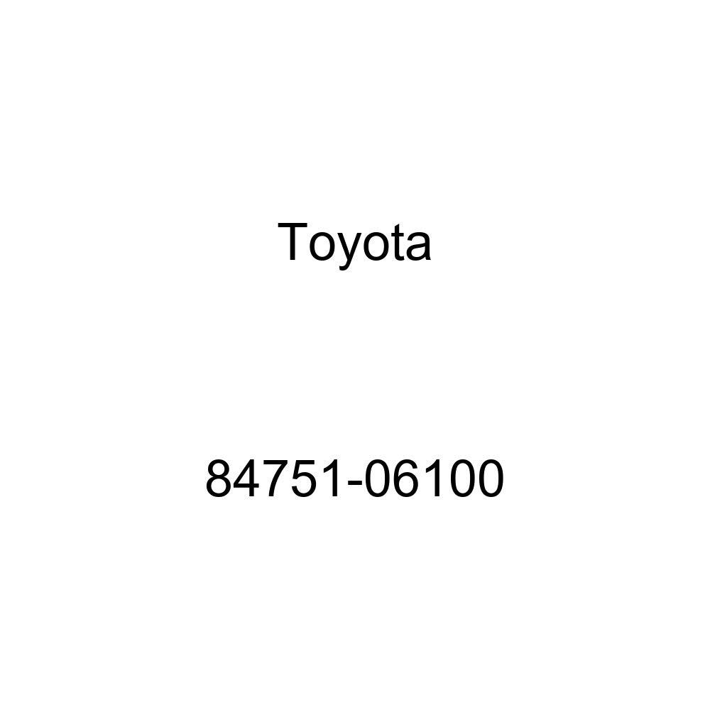 Toyota 84751-06100 Seat Heater Switch