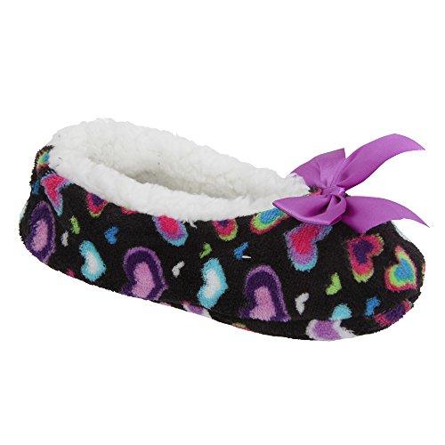 Zapatillas de estar por casa de polar para mujer Fucsia
