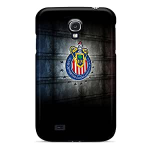 Shock Absorption Hard Phone Covers For Samsung Galaxy S4 With Allow Personal Design High-definition Chivas Skin RitaSokul