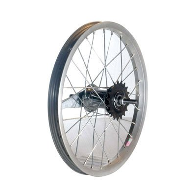 Sta-Tru Steel Single Speed Coaster Brake Hub Rear Wheel (16X1.75-Inch)
