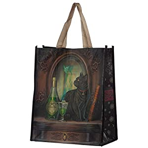 Absinthe Cat Lisa Parker Reusable Shopping Bag