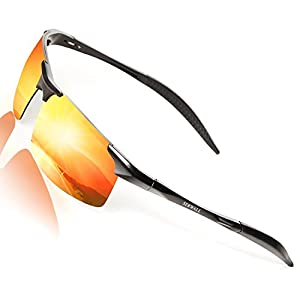 Sunglasses For Men Polarized UV Protection Driving Men's Sunglasses Ultralight Metal Frame