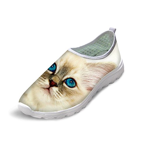 Bigcardesigns Lovely Kitty Female Running Shoes Sneakers Lightweight cat 6 eC6IhFYJ