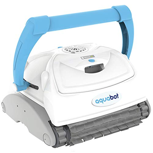 - Aquabot Breeze IQ Wall-Climbing Automatic In-Ground Robotic Brush Pool Cleaner