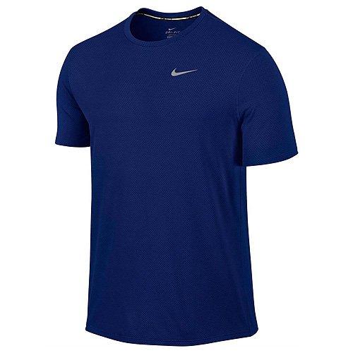 Nike Men's Dri-Fit Contour Short Sleeve - X-Large - Deep Royal Blue