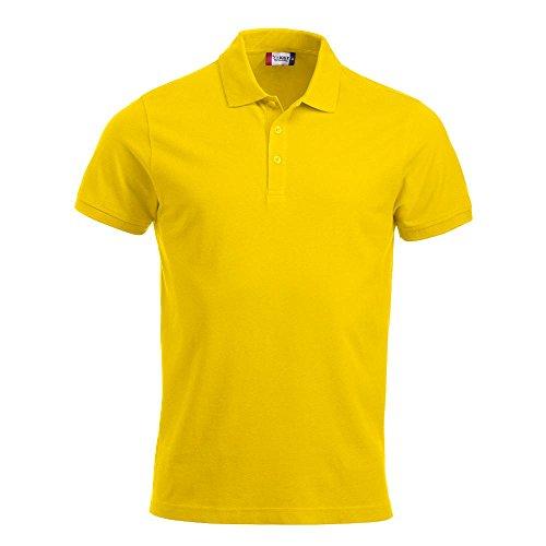 CliQue Classic Lincoln, Polo Uomo, Yellow (Lemon), Medium