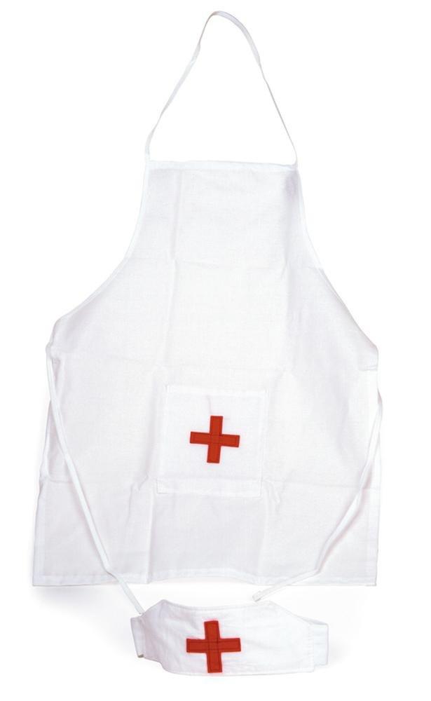 Egmont Toys Krankenschwester-Schürze und -Mütze/Hut 509005