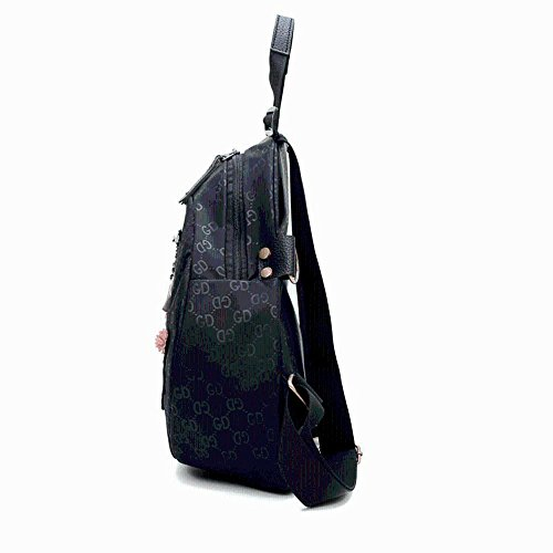 Aoligei Tissu d'oxford imperméable femelle d'un sac à dos fille sac multifonctions printemps double Shoulder bag Large