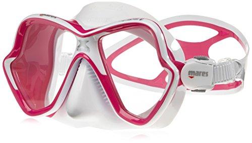 Mares X-Vision Verre Ultra Masque de plongée LS Lunettes–Rose/Blanc/Rose/Blanc