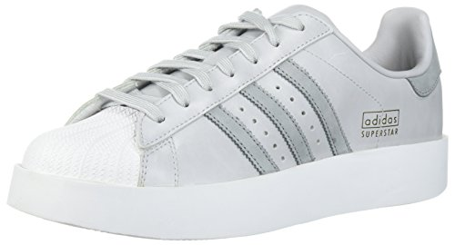 Adidas Originaler Kvinners Super Fet W Sneaker Lys Solid Grå / Mid Grå / Hvit