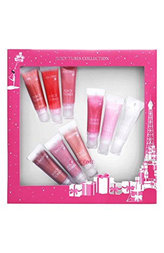 uicy Tubes Collection Lip Gloss Set for Women (Lancome Pink Lip Gloss)