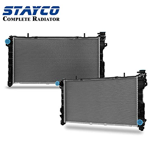 Radiator Chrysler Voyager - CU2311 Radiator for Chrysler Town & Country Grand Voyager Dodge Grand Caravan 2001 2002 2003 2004 V6 3.8L 3.3