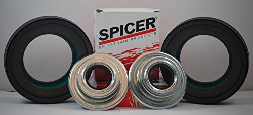 Ford Superduty 4x4 F250/F350 Dana Super 60 2005-2014 Front Axle Seals Kit Dana/Spicer