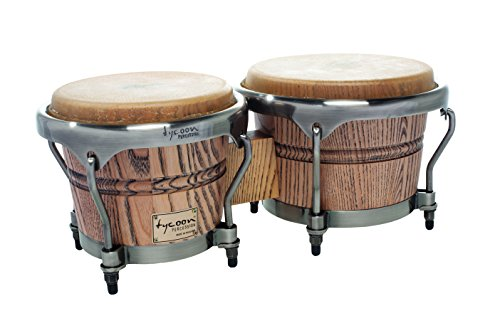 Tycoon Percussion 7 Inch & 8 1/2 Inch Master Grand Series Bongos ()