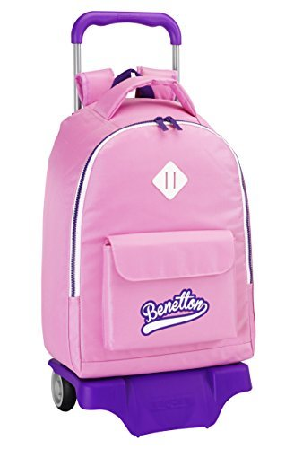 ucb-united-colors-of-benetton-pink-big-rucksack-with-wheels-32cm-x-43cm-x-16-cm-by-benetton