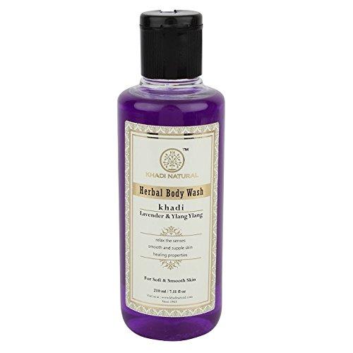 Beautiful Gel Body Wash - KHADI - Lavender & Ylang Ylang Herbal Body wash - 210ml