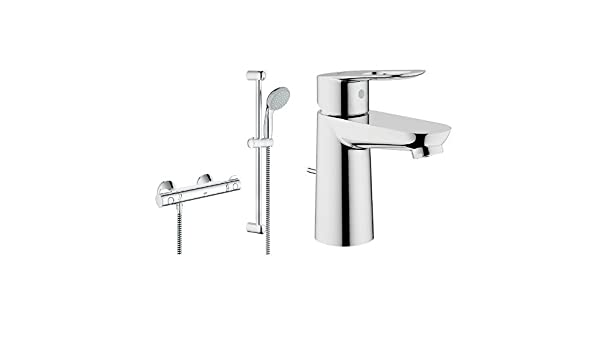 Grohe Grohtherm 800 - Conjunto de ducha compuesto por Termostato ...