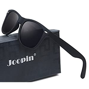 Joopin Unisex Polarized Sunglasses Classic Men Retro UV400 Brand Designer Sun glasses