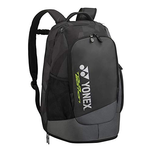 Amazon.com : Yonex 2018 New 9812 Racket Backpack Black : Sports & Outdoors