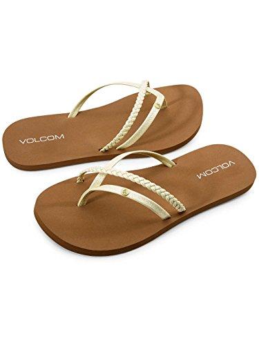 Volcom VolcomThrills Dress Sandal - Sandalias de vestir Thrills Para mujer limón
