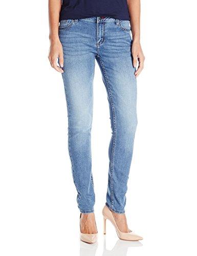 Wrangler Authentics Women's Mid Rise Denim Legging, Horizon, 12