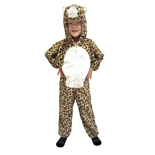 [Totally Ghoul Natural Leopard Child Halloween Costume] (Kids Natural Leopard Costumes)