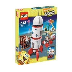 3831 parallel import goods LEGO SpongeBob SquarePants Rocket Ride (japan (Lego Spongebob Rocket)