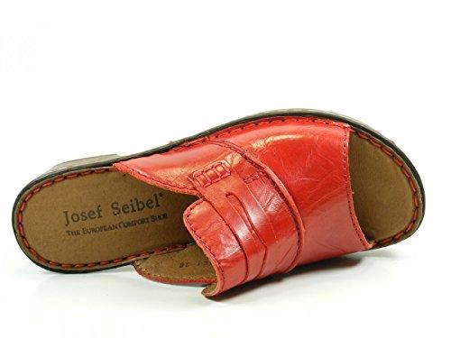 Josef Seibel 62905 Rebecca 05 Dames Schoenensandals Muilezels Klompen Rood