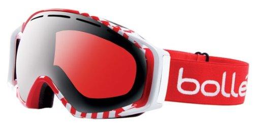 Bolle Gravity Goggle (Red Arrow/Vermillon - Bolle Gravity Ski Goggles