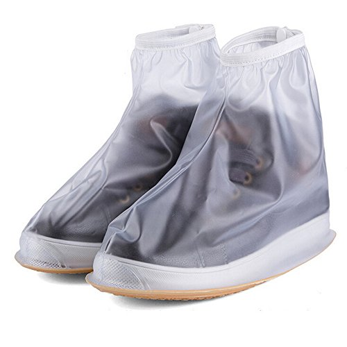 Rain Shoes Cover Waterproof Anti-Slip Reusable Foldable Rain Snow Overshoes Women Men Kids