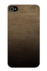 BDkIsVb4337DoMbl Tpu Phone Case With Fashionable Look For Iphone 4/4s - Texture Case For Christmas Day's Gift