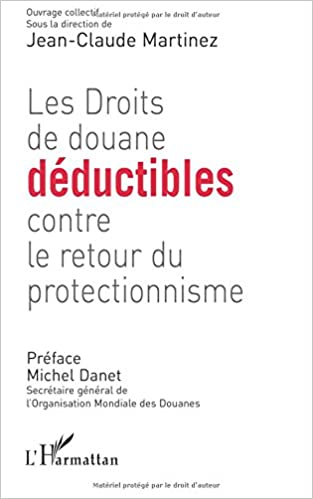 Téléchargement gratuit ebooks italiano Des droits de douane déductibles contre le protectionnisme in French PDF PDB by Jean-Claude Martinez 2296062857