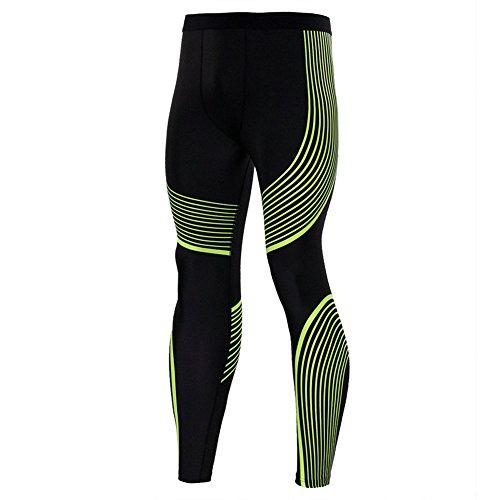 Pantalons Running La De Sport Mode Manteau Gym Collants Compression Imprimés À Jaune Leggings OROwqxzHr