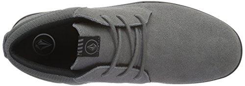 Volcom El Dorado Shoe - Zapatillas Hombre Gris - Grau (Gunmetal Grey)
