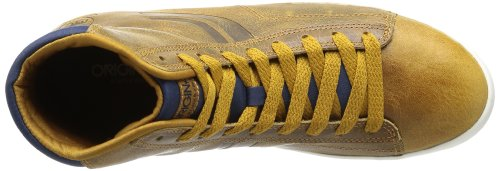 JACK & JONES JJ RENO LEATHER JI ORG 12069919, Sneaker uomo Marrone (Braun (Golden Brown))