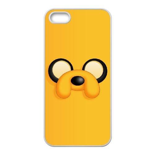 D0E27 Jake The Dog T3A2ET coque iPhone 4 4s cellule de cas de téléphone couvercle coque blanche XE7JGP1JM