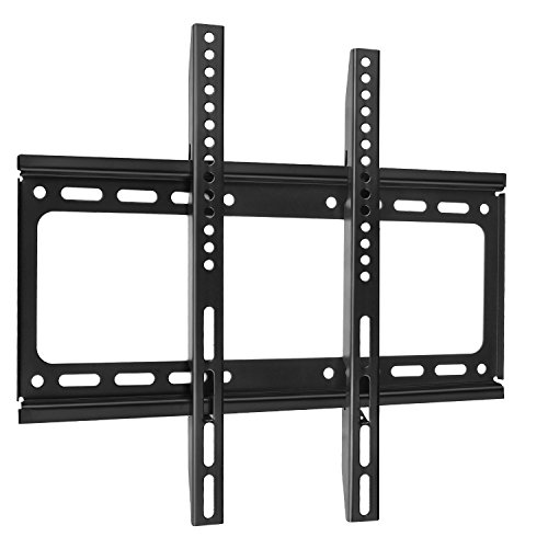 SLIM LCD LED PLASMA FLAT TILT TV WALL MOUNT BRACKET 26 30 32 37 42 46 47 50 55 - Easy Install With All Hardware Included by AC Doctor INC