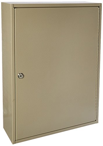 Buddy Products 300 Key Cabinet, Steel, 6 x 22 x 16 inches, Gray (Buddy Products Six Section)