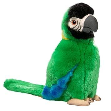 Carl Dick Peluche - Loro verde (felpa, 25cm) [Juguete] 2416001