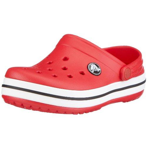 crocs Unisex-Kinder Crocband Kids Clogs Rot (Red)