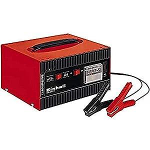 einhell CC-BC 8 Caricabatteria, Amperometro Integrato, Rosso, Nero 41Hqj4HCNoL. SS300