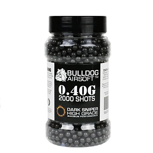 Bulldog-040g-2000-Dark-Sniper-Airsoft-BB-Pellets-Black