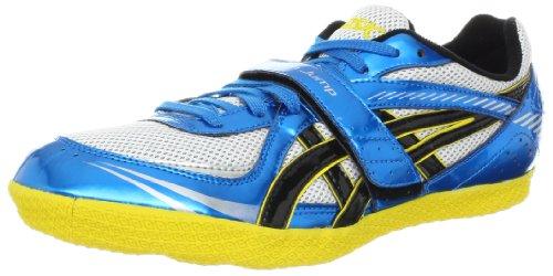 ASICS Turbo High Jump Running Shoe,Jet Blue/Yellow/Black,14 US Women's/12.5 US Men's