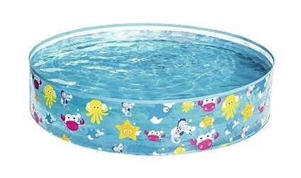 Bestway 55028 - Piscina para niños redonda kids play pool en PVC y Vinilo (