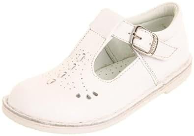 Willits Lauren T-Strap Shoe (Infant/Toddler) (3 M US Infant/Toddler, White)