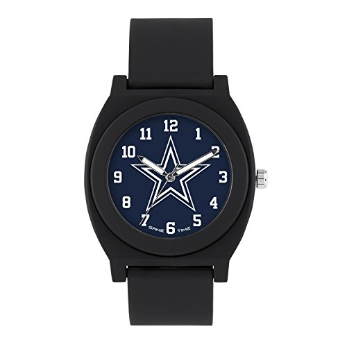 (NFL Dallas Cowboys Mens Fan Series Wrist Watch, Black, One Size)